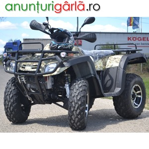 Imagine anunţ ATV Road Legal Hunter 300-S2 / 4X4 / WINCH / 4x suspensie