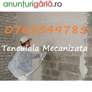 Imagine anunţ Executam Tencuiala Mecanizata-Sapa de Egalizare-0763349785