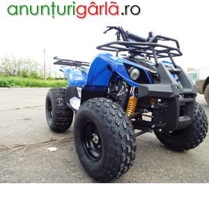 Imagine anunţ ATV Nou Grizzly Quad 125cc Cadou Casca + accesorii