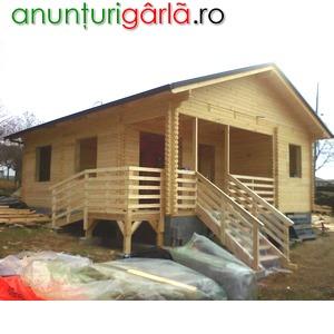 Imagine anunţ Case din lemn