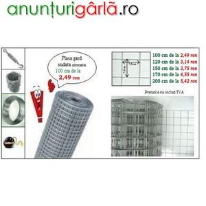 Imagine anunţ Plasa de sarma zincata- Pret Promo