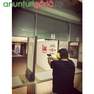 Imagine anunţ Poligon tragere arme letale si airsoft