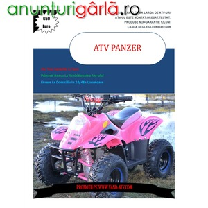 Imagine anunţ ATV KXD Panzer 125cc Casca Bonus, Import Germania