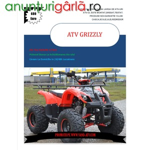 Imagine anunţ ATV KXD R8 TORONTO 125cc, Livrare rapida