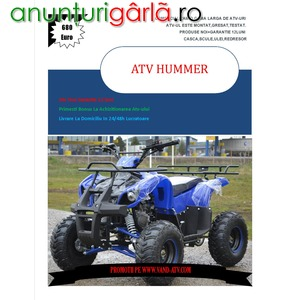 Imagine anunţ ATV KXD TORINO 125cc , Livrare rapida, Import Germania
