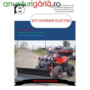 Imagine anunţ ATV Phantom Electro Hummer 1000W Livrare rapida