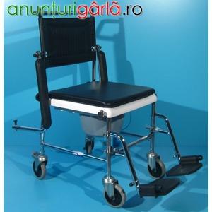 Imagine anunţ Carucior handicap cu WC second hand Invacare-290lei