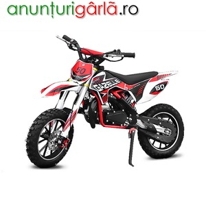 Imagine anunţ Motocicleta Nitro 49cc Gazelle Deluxe E-Start