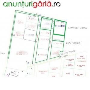 Imagine anunţ Teren BUCIUM VISANI IASI 1118 mp