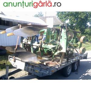 Imagine anunţ Vand 3 bc pluguri reversibile hidraulic recent aduse in tara