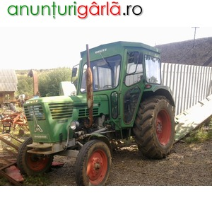 Imagine anunţ Vand tractor deutz 6006 de 60 cp in 4 cilindri recent adus