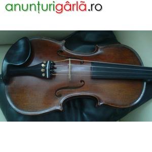 Imagine anunţ vand vioara profesionala gliga