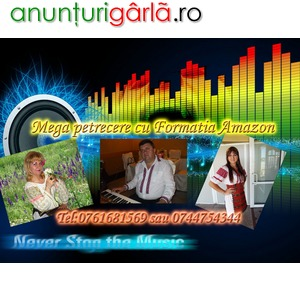 Imagine anunţ Formatie de muzica pentru nunti, botezuri, evenimente