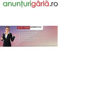 Imagine anunţ Infiintare firma Bumbesti Jiu la Registrul Comertului Targu Jiu