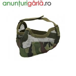 Imagine anunţ Masca protectie din plasa metalica woodland - 8Fields