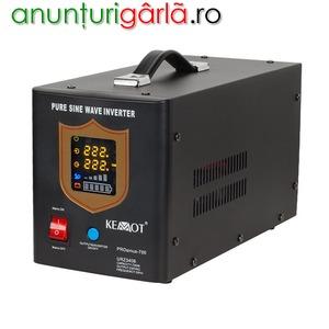 Imagine anunţ UPS pentru centrala termica 12V, 700W, sinus pur