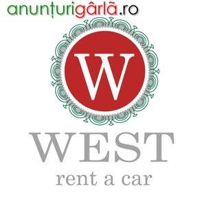 Imagine anunţ West Rent a Car inchirieri auto in Timisoara si Aeroport