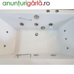 Imagine anunţ cada baie cu hidromasaj la comanda