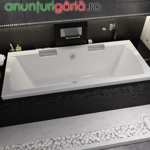 Imagine anunţ cada baie dreptunghiulara 180x80 cm, 190x90 cm.