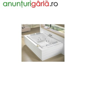 Imagine anunţ cada baie dubla dimensiuni mari la comanda