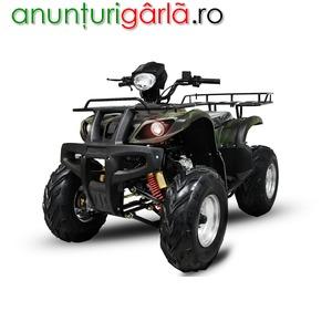 Imagine anunţ BEMI Grizzly HUMMER 200CVT Full Automatic R10 PRO cu carlig remorca
