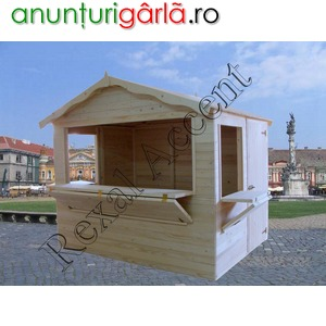 Imagine anunţ Vanzare din stoc Casute din lemn pentru Targul de Craciun 2017