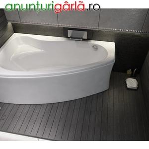 Imagine anunţ cada baie colt 140x100 cm