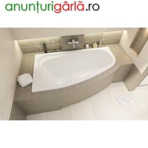 Imagine anunţ cazi de baie colt asimetrice Arad