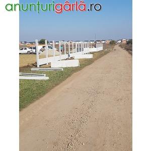 Imagine anunţ intrarea in comuna berceni terenuri in rate comision 0%