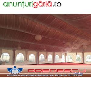 Imagine anunţ Amenajari Corturi Nunti-Bar-Amenajari Drapaje . Predescu Rebel Design