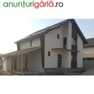 Imagine anunţ Casa noua la cheie , direct dezvoltator, 5 camere, 500 mp teren, toate utilitatile incluse- 75.000 eur