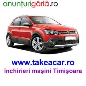 Imagine anunţ Inchirieri de masini Volkswagen in Timisoara