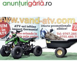 Imagine anunţ SUPER OFERTA ATV MODEL:RAPTOR-BANSHE 125CMC