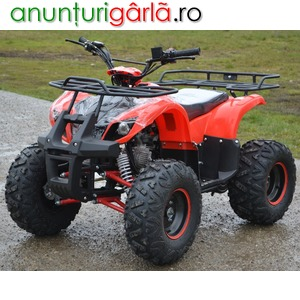 Imagine anunţ Atv Nitro-Motors125Cmc Grizzly Rg7''