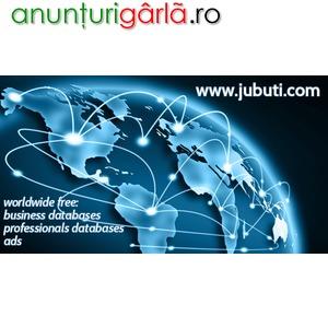 Imagine anunţ Jubuti - Free Worldwide Business & Professionals Databases