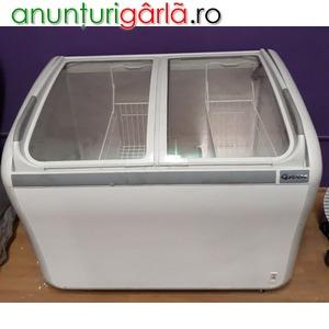 Imagine anunţ Lada frigorifica geamuri 200 litri GRAM