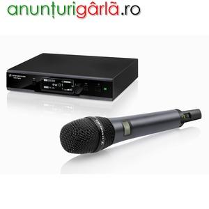 Imagine anunţ Microfoane profesionale SENNHEISER