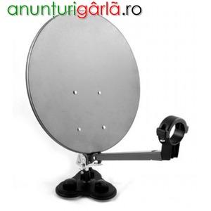 Imagine anunţ Antena satelit portabila + LNB Cadou
