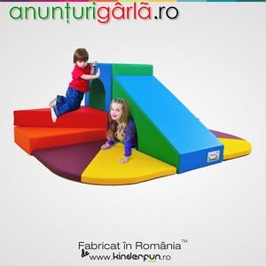 Imagine anunţ Complex de joaca STEPS, loc de joaca pentru copii producator Romania