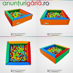 Imagine anunţ Piscina cu bile MAGIC, loc de joaca producator Kinderun Soft Play