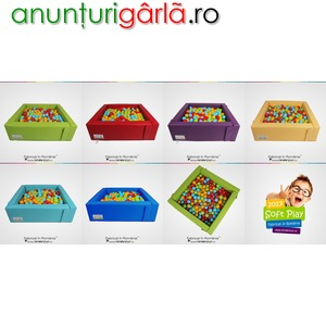 Imagine anunţ Piscina cu bile pentru copii - loc de joaca profesional
