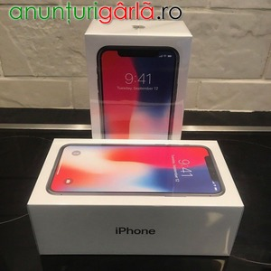 Imagine anunţ APPLE IPHONE X 64GB SLIVER