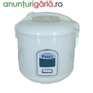 Imagine anunţ Aparat pentru gatit orez Phaks CFXB30A, 1.5 litri, 500W