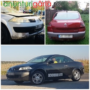 Imagine anunţ Dezmembrez renault megane 2 - 2004 - 2009 motorizari 15dci si 16 16valve motoare , cutii viteze , fuzete , planetare, jug motor , capote , usi fata si spate ,