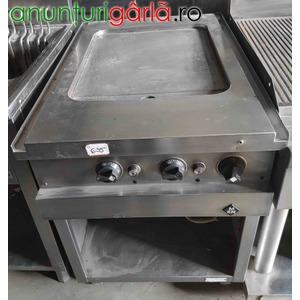 Imagine anunţ Gratar inox electric placa neteda cu suport, second hand