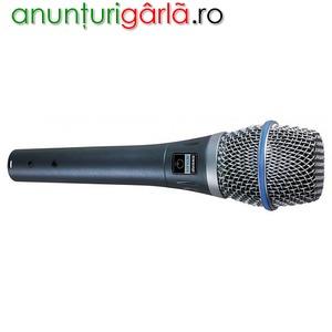 Imagine anunţ Microfon Shure Beta 87
