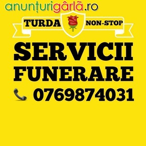 Imagine anunţ SERVICII FUNERARE TURDA – POMPE FUNEBRE NON-STOP
