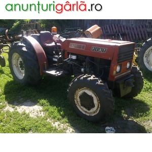 Imagine anunţ Vand tractor fiat 670 dth 4x4 recent adus in tara