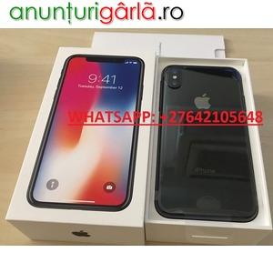 Imagine anunţ Apple iPhone X 64GB for 400 EUR , iPhone X 256GB for 450 EUR , iPhone 8/8 Plus 64GB = 300EUR , WhatsApp Chat: +447451221931