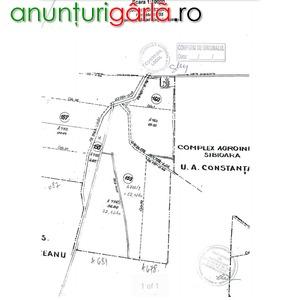 Imagine anunţ Mihail Kogalniceanu, Teren 1Ha, DJ 682, DE753, judetul Constanta,